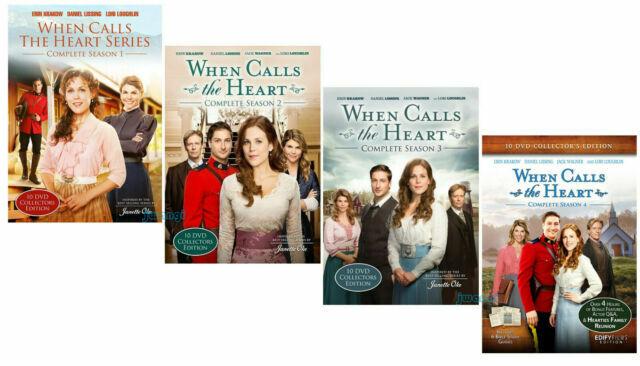 Www.Ebay.Com  When Calls The Heart 2020 Christmas Dvd S When Calls The Heart Season 4 DVD 10 Disc Collector Edition BOXSET