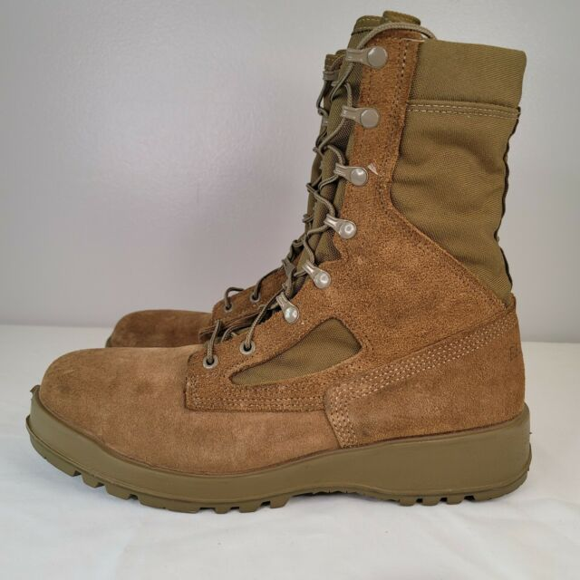 BELLEVILLE 551 ST U.S. Military Hot Weather Steel Toe Combat Boots Mens 11 USA