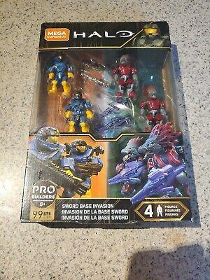 Mega Construx HALO SWORD BASE INVASION Set Halo 99 PCS GLB75 New /& Sealed