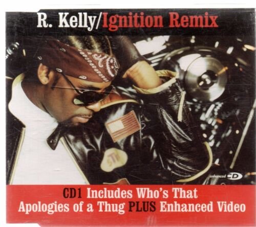 1 of 1 - R. Kelly - Ignition Remix CD1 (3 tracks plus video, CD single)