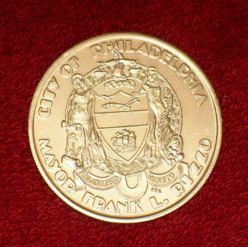 FREE SHIPPING!!! CITY OF PHILADELPHIA PENNSYLVANIA 1976 BICENTENNIAL TOKEN RARE