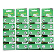 Packung  mit 40pcs TIANQIU AG1 364A 364 SR621SW LR621 LR60 CX60 Alkalisch
