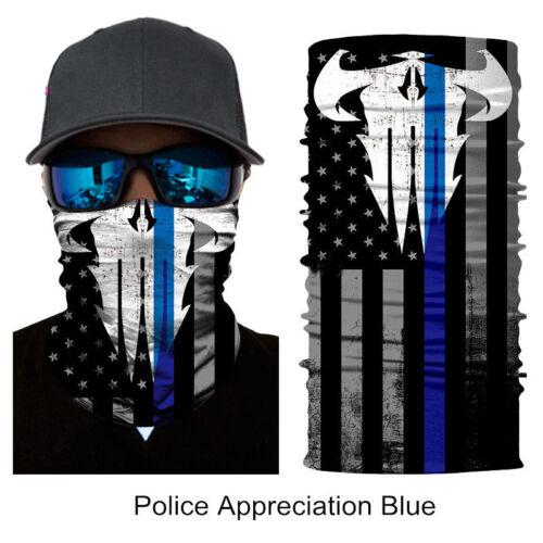 Face Shield Sun Mask Neck Gaiter Balaclava Fishing Scarf Headwear UV Skull Clown