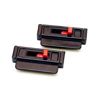 Ajustador De Tensión Para Cinturón De Seguridad Negro (2-paquete)