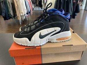 finest selection 745a5 d738e Image is loading Nike-Air-Max-Penny-Hardaway-B-Black-Blue-