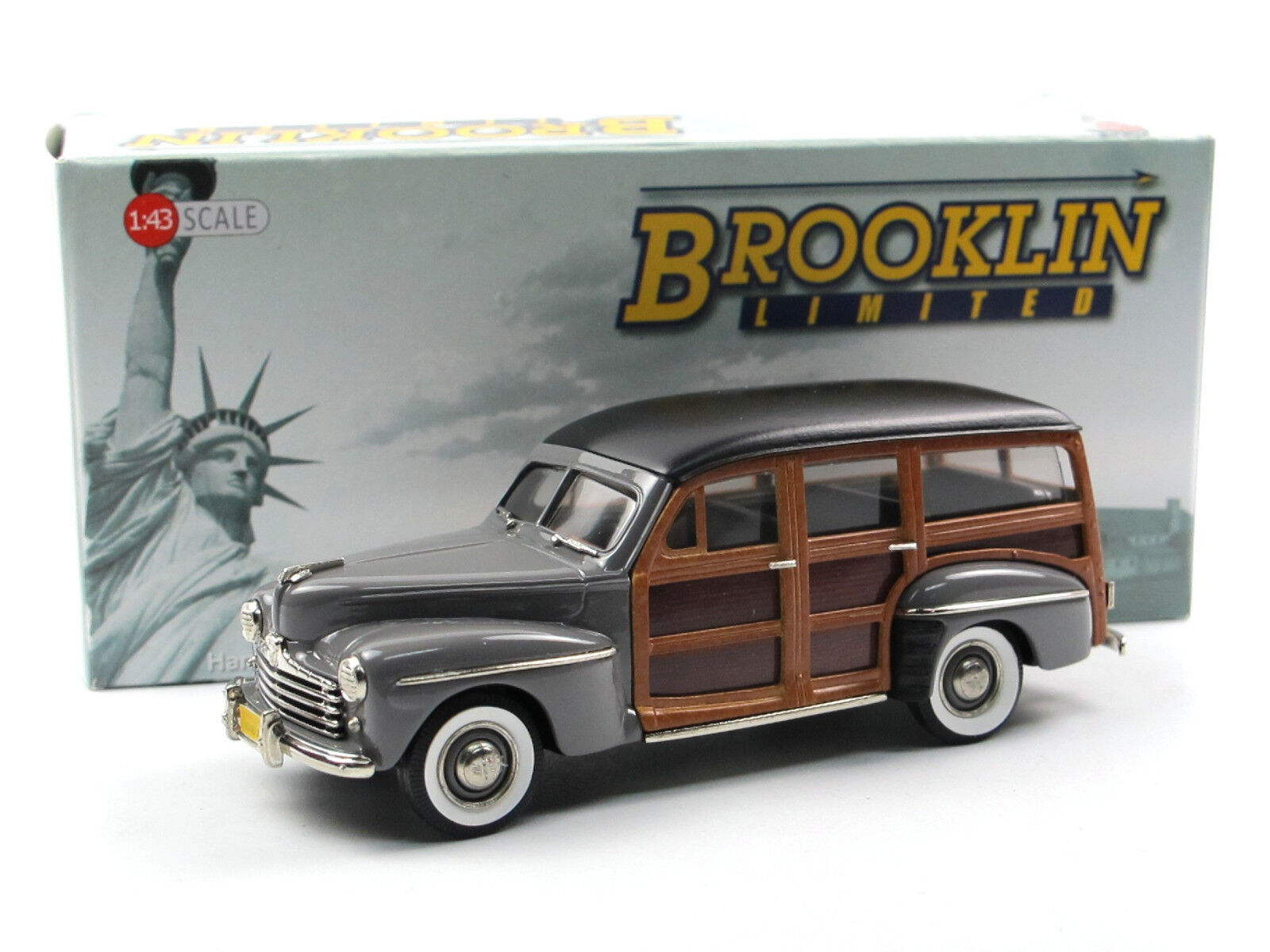 Brooklin modelle bml 23 - 1948 ford v8  fressie  kombi aus grau 1   43