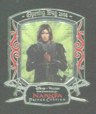 WDW The Chronicles of Narnia Prince Caspian  Opening Day 2008 Disney Pin 61601