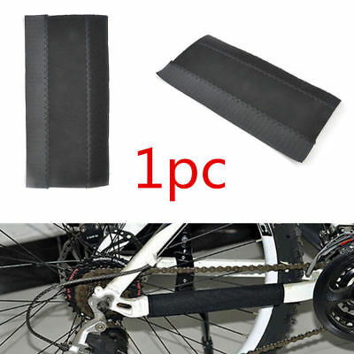 Bicycle Mountain Bike Frame Chain Protector Protect Mat Guard Pad Cycling Black