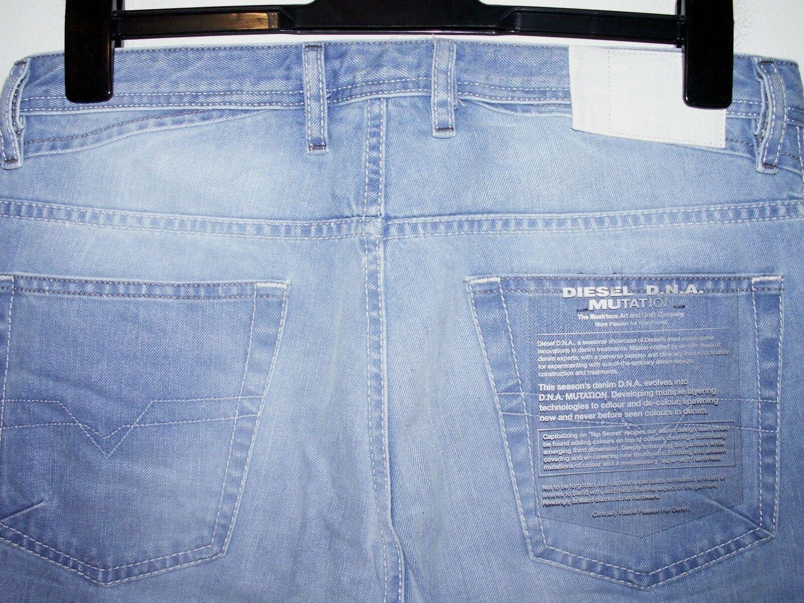 Diesel shioner slim-skinny jeans wash 0605L W32 L32 (a1432)  sale