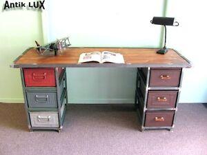 Schreibtisch industriedesign  cooler Schreibtisch im Industriedesign, Tisch Werktisch Loft Möbel ...