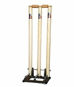 New Official Cricket Sports Accessories Match Quality Wicket Bails Set Of 2