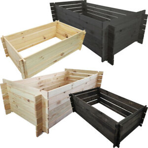 Holzkomposter-Gartenkomposter-Kompost-Steckkomposter-Kompostbehaelter-Kompostsilo