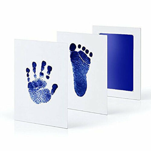 Inkless Wipe Baby Kit Hand Foot Print Gift Keepsake Infant Footprint Handprint