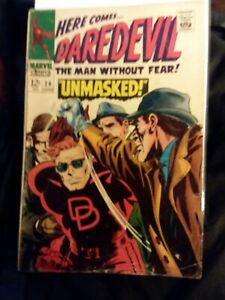 Daredevil-29-FN-Condition-Marvel-comics-1964-Series-Unmasked