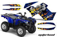 Yamaha Grizzly 550/700 Amr Racing Graphics Sticker Kit 07-13 Atv Decals Motor Bl