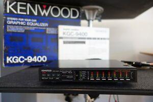Vintage-Kenwood-KGC-9400-Graphic-Equalizer-EQ-Spectrum-Analyzer-Old-School-Rare