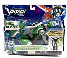 Robot Voltron Combinable Lions Intelli Tronic Figure Green Lion