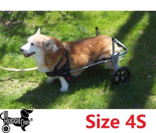 Huggiecart Dog Wheelchair Size 4 40-70 lbs Ready to ship Approx New