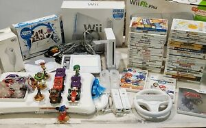 Nintendo Lot Wii Console Wii Balance Board 41 Games Controllers Disney Infinity