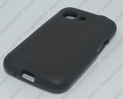 Black Matting TPU Silicone CASE Cover For Samsung Galaxy Young 2 Duos SM-G130H