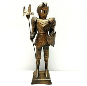 Vintage Medieval Knight Armor Metal Sculpture Handmade ...