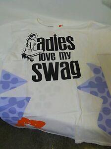 Men's Med Swag T Ladies 2x My Love 3x Shirt 4x Large YB6X6Aqx