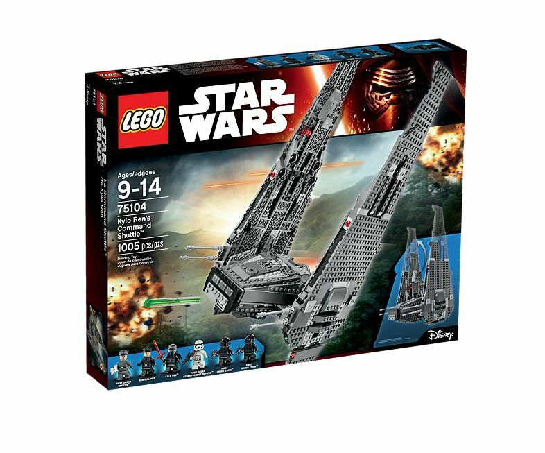 New Lego Star Wars The Force Awakens LEGO Kylo Ren's Command Shuttle 75104