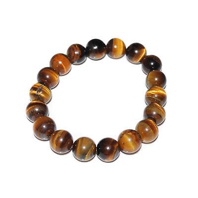 Lucky bless Beads Bracelet Bangle New Tiger Eye Stone Men Woman Jewelry Natural