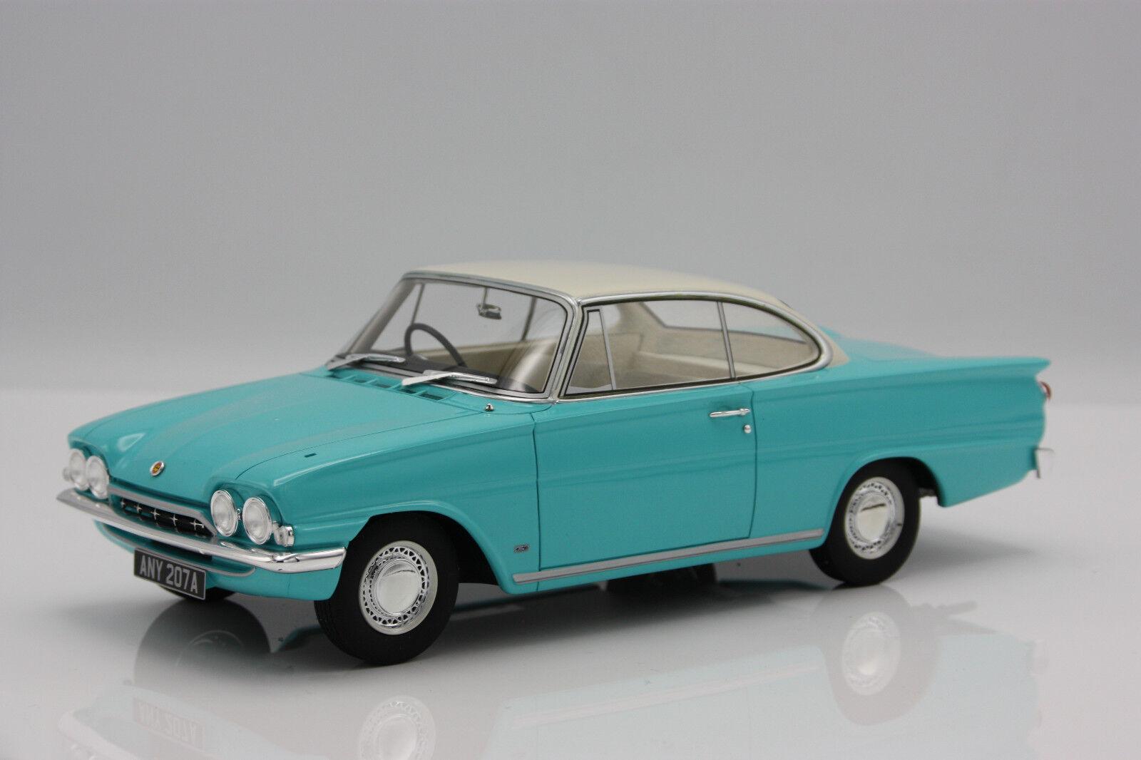 Ford Consul Capri 116E GT RHD 1963 Turquoise blanc  1 18 BOS    nouveau   meilleure vente