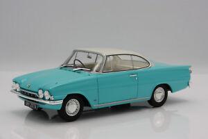 Ford-Consul-Capri-116E-GT-RHD-1963-tuerkis-weiss-1-18-BOS-gt-gt-NEW-lt-lt