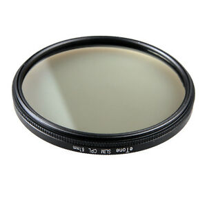 eTone New Slim 67mm CPL Filter For Nikon 18-105mm 18-140mm f//3.5-5.6G ED VR Lens