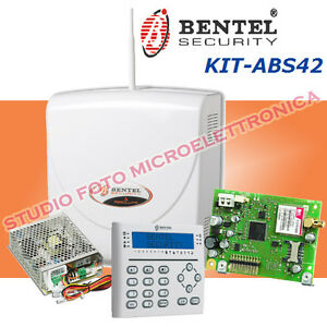 Kit antifurto completo bentel absoluta 42 impianto di for Bentel absoluta 42 prezzo