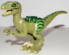 LEGO DINO - Raptor with Dark Green and Lime Back Figure