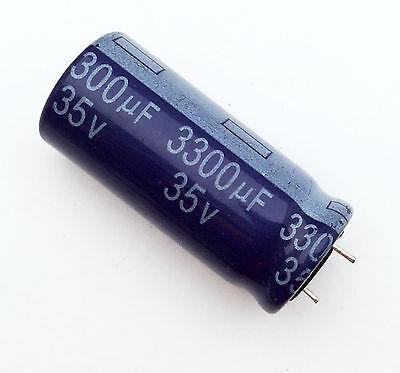 Condensatore Elettrolitico 3300uF 35V 85°C Radiale 17x35mm YAGEO
