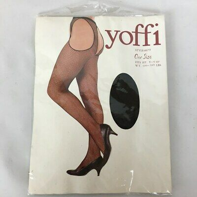 """NEW Women/'s Fashion Panty Hose One Size Fits 5/'-5/'7/"""" 100-165lbs"""