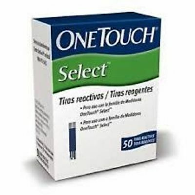 Johnson&Johnson One Touch Select 50 Test Strips Long Expiry Fast shipping