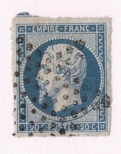 VARIETE-N-14-Af-LE-BLEU-LAITEUX-oblitere-etoile-de-Paris-CV-15