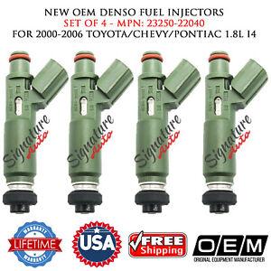 OEM Set of 4 Fuel Injectors for Corolla Chevrolet Prizm 1.8L
