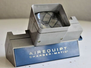 Vintage Airequipt Charger-Matic 35mm Slide Viewer ILOCA
