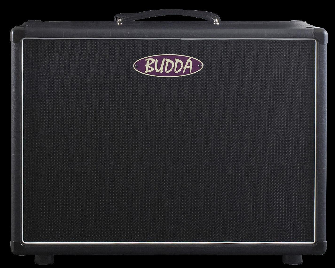 Budda 1X12  de 75 75 75 vatios cerrado atrás Gabinete De Altavoz de Guitarra de extensión BRS-08100 Nuevo  Mercancía de alta calidad y servicio conveniente y honesto.