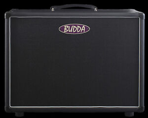 Budda-1X12-034-75-Watt-Closed-Back-Extension-Guitar-Speaker-Cabinet-BRS-08100-New