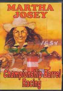CAMPIONATO Barrel RACING da Martha Josey DVD-NUOVO