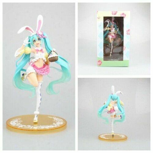 PVC Action Anime Figure Toy New in Box 23CM Hatsune Miku season Spring ver
