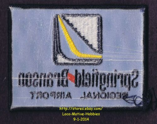 LMH PATCH Badge SPRINGFIELD BRANSON REGIONAL AIRPORT Nat/'l Municipal /'92 2006 bl