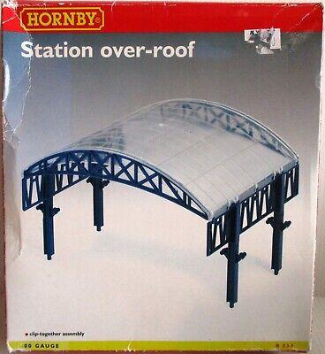 Hornby R334 Stazione Over-roof - Kit Imballaggio Originale Lieve Conservazione