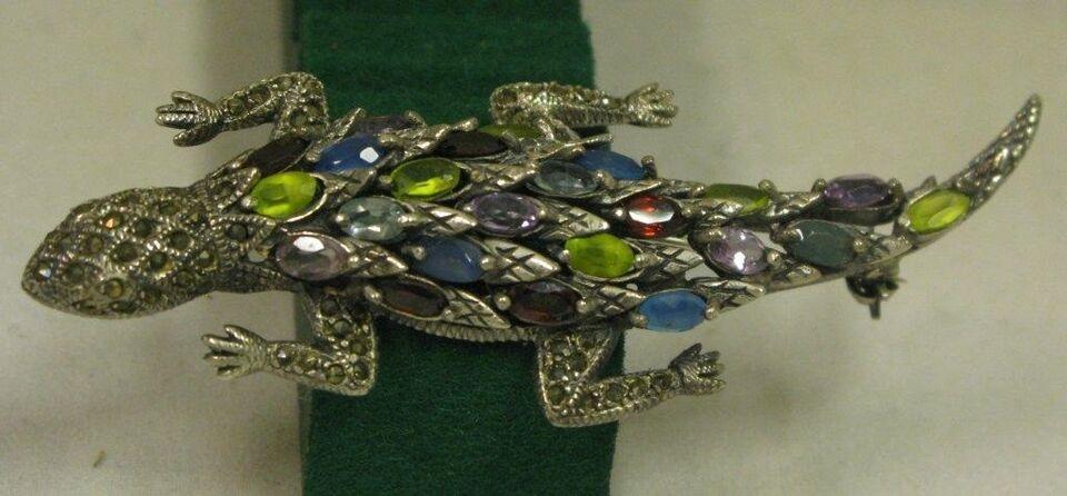 Smykker og sten, Broche, 925