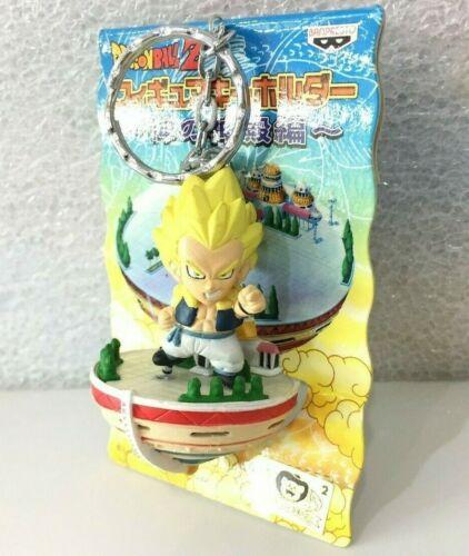 Japan Banpresto Dragon Ball Z Tower Gotenks SS Figure Keychain Toy Kid