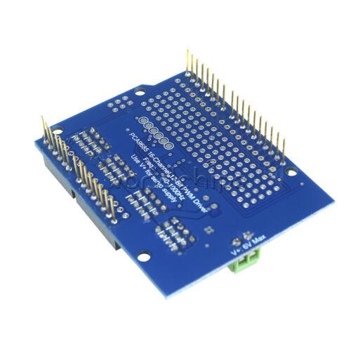 I2C PCA9685 For Arduino 16-Channel 12-bit PWM Servo Driver