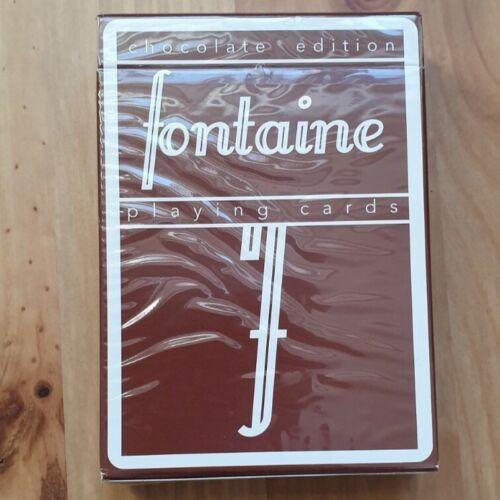 Fontaine chocolate Edition Playing Cards 1//10.000 raramente//Rare