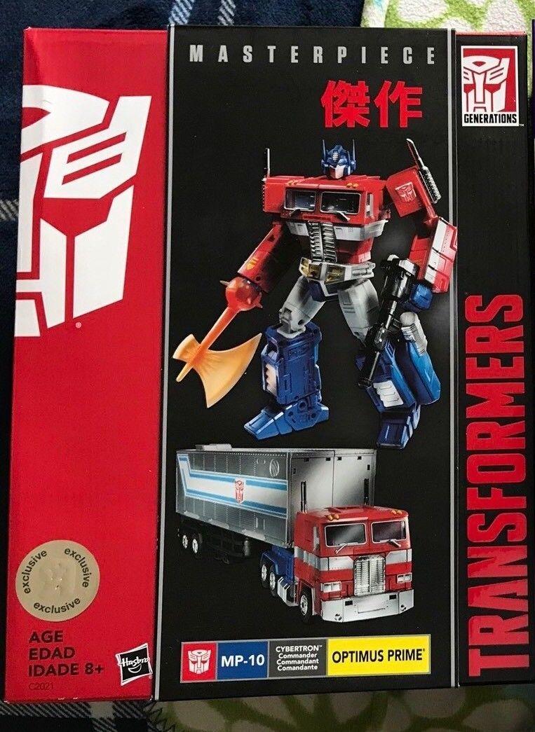 Obra maestra de Transformers Optimus Prime Nuevo En Caja fuera de paquete Raro San Diego comic-con TRU exclusivo 2017